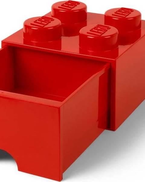 LEGO Červený úložný box se šuplíkem LEGO®