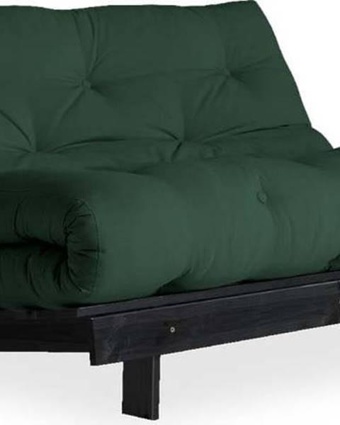 Karup Design Variabilní pohovka Karup Design Roots Black/Dark Green