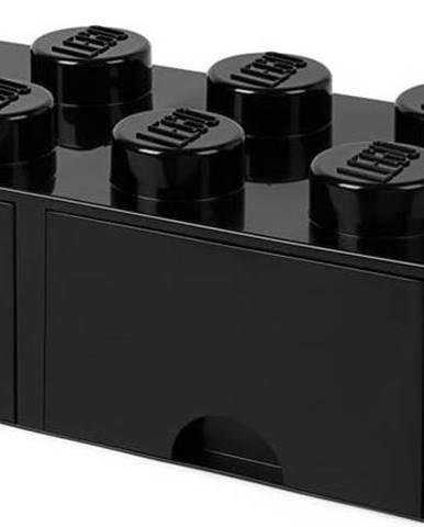 Černý úložný box se dvěma šuplíky LEGO®