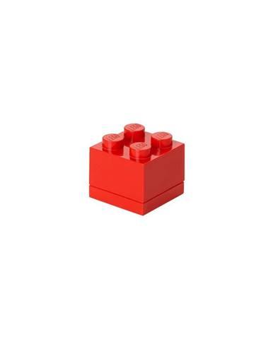 Červený úložný box LEGO® Mini Box
