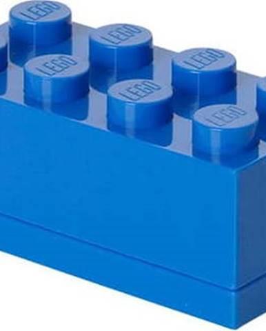 Modrý úložný box LEGO® Mini Box Lungo