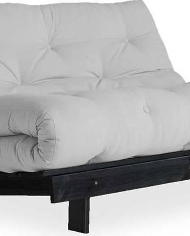 Variabilní pohovka Karup Design Roots Black/Light Grey