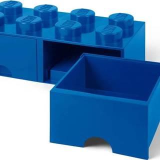 Tmavě modrý úložný box se dvěma šuplíky LEGO®
