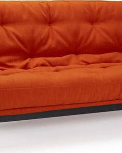 Innovation Červená rozkládací pohovka Innovation Fraction Elegant Elegance Paprika, 97x200cm