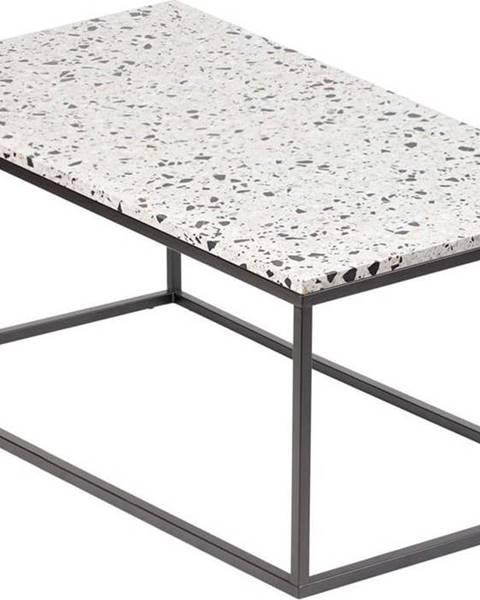 RGE Konferenční stolek s kamennou deskou RGE Cosmos, délka 110 cm