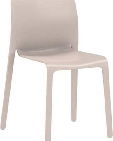Béžová jídelní židle Magis First