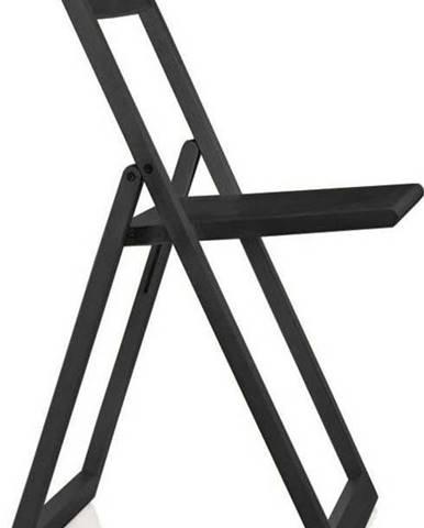 Černá jídelní židle Magis Aviva