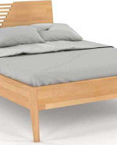 Dvoulůžková postel z bukového dřeva Skandica Visby Wolomin, 180x200cm