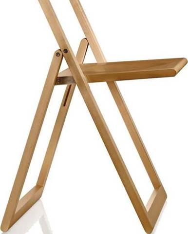 Hnědá jídelní židle Magis Aviva