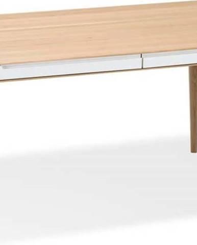 Jídelní stůl z dubového dřeva Gazzda Ena Two, 160x90cm