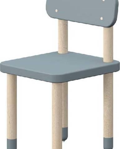 Modrá dětská židle Flexa Dots