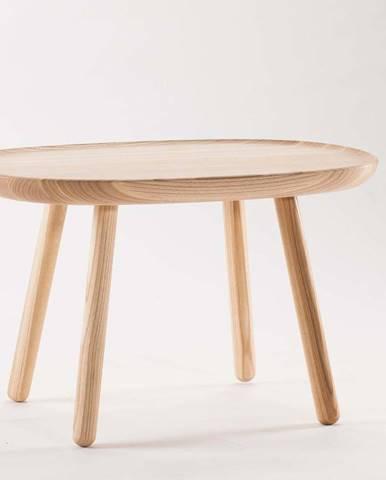 Přírodní stolek z masivu EMKO Naïve, 61 x 41 cm