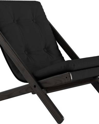 Skládací křeslo Karup Design Boogie Black/Dark Grey