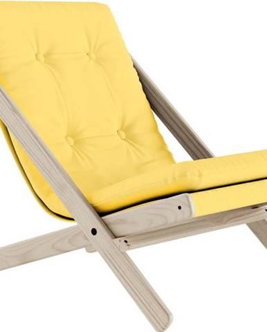 Skládací křeslo Karup Design Boogie Raw/Yellow