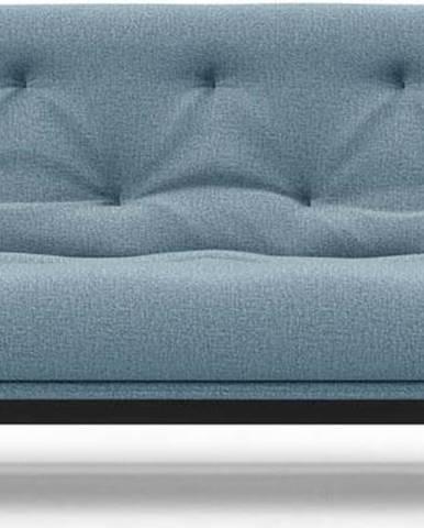 Světle modrá rozkládací pohovka Innovation Aslak Dance Light Blue, 92x200cm