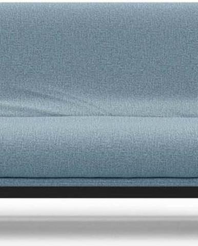 Světle modrá rozkládací pohovka se snímatelným potahem Innovation Aslak Elegant Mixed Dance Light Blue, 92x200cm