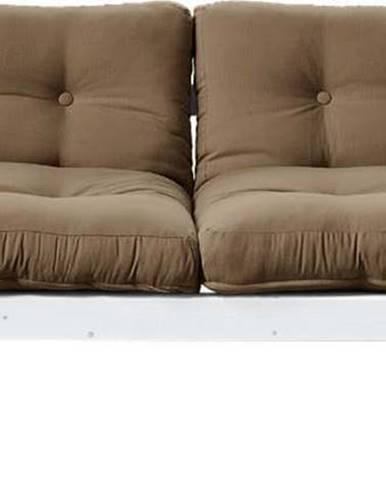 Variabilní pohovka Karup Design Step White/Mocca