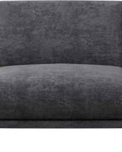MESONICA Tmavě šedá pohovka MESONICA Puzo, 240 cm