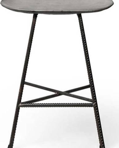 Betonová pultová židlička Lyon Béton Hauteville