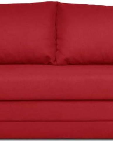 Červená rozkládací pohovka Cosmopolitan Design Honolulu