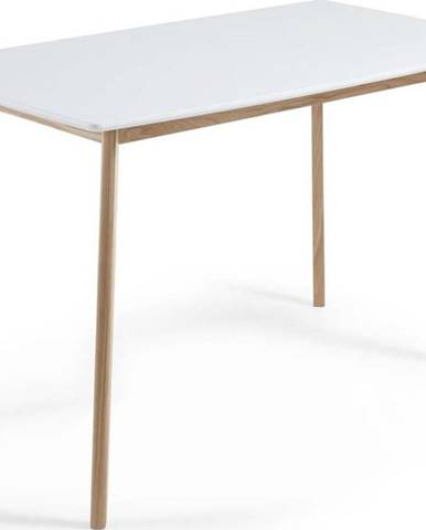 Jídelní stůl z jasanového dřeva La Forma Unit, 140 x 80 cm