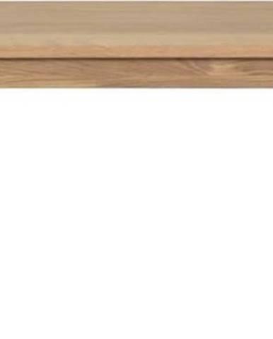 Lavice ze dřeva bílého dubu Unique Furniture Amalfi