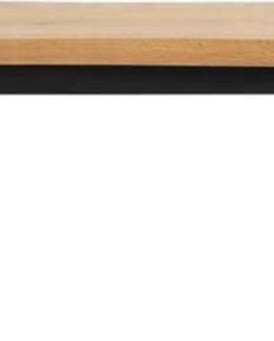Lavice ze dřeva bílého dubu Unique Furniture Oliveto