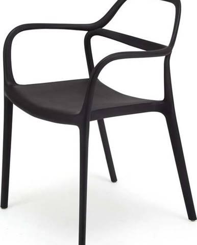 Sada 2 černých jídelních židlí Le Bonom Dali Chaur