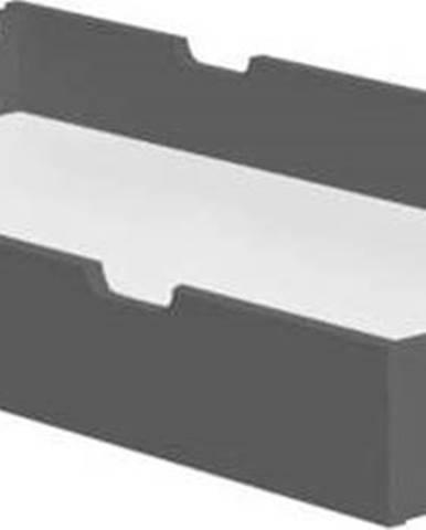 Tmavě šedá zásuvka pod dětskou postýlku Pinio Cot, 120 x 60 cm