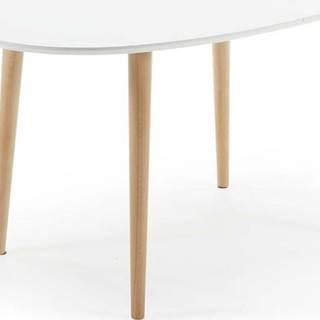 Rozkládací jídelní stůl z bukového dřeva La Forma Oakland, 140 x 90 cm