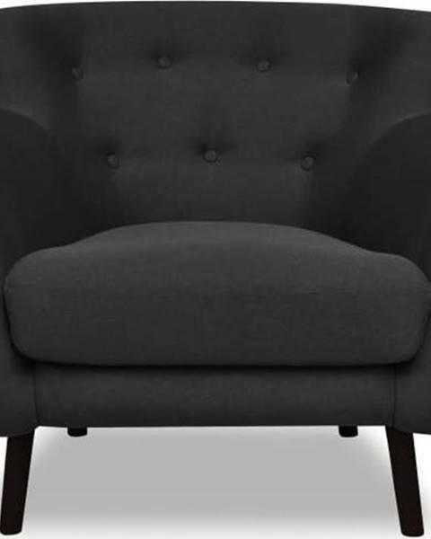 Cosmopolitan design Tmavě šedé křeslo Cosmopolitan design Hampstead