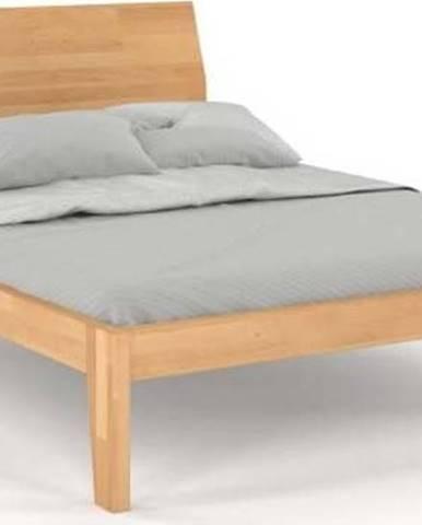 Dvoulůžková postel z masivního bukového dřeva SKANDICA Agava, 180 x 200 cm
