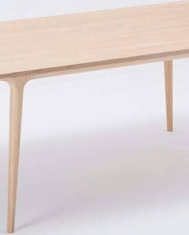 Jídelní stůl z masivního dubového dřeva Gazzda Fawn, 180x90cm