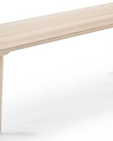 Lavice z jasanového dřeva EMKO Naïve,šířka140cm