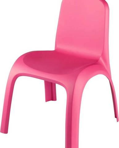 Růžová dětská židle Curver