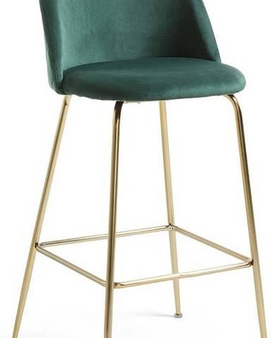 Zelená barová židle La Forma Mystere