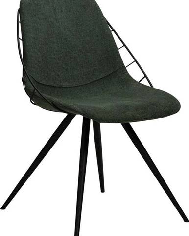 Zelená jídelní židle DAN-FORM Denmark Sway