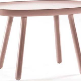Dřevěný odkládací stolek EMKO Naïve, 61 x 41 cm