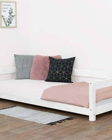 Bílá dětská dřevěná postel Benlemi Study,120x200cm