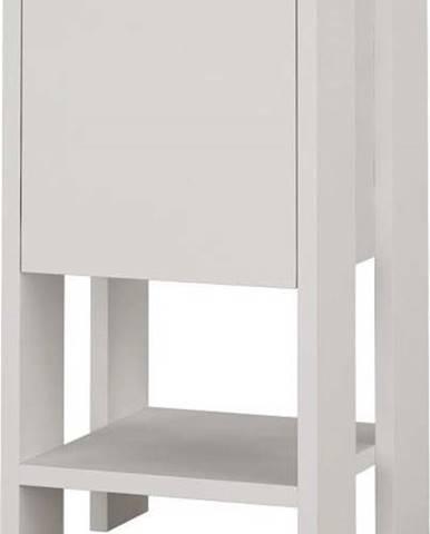Bílý noční stolek Garetto Ema