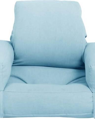 Dětské rozkládací křesílko Karup Design Mini Hippo Light Blue