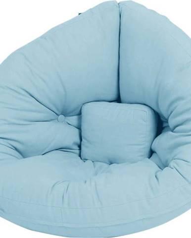 Dětské rozkládací křesílko Karup Design Mini Nido Light Blue
