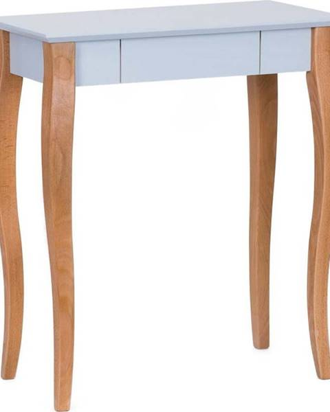 Ragaba Světle šedý psací stůl Ragaba Lillo,délka65 cm