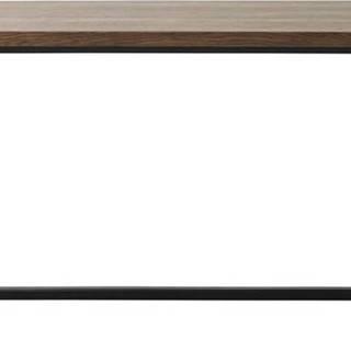 Jídelní stůl v dubovém dekoru Unique Furniture Rivoli,180x90cm