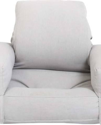 Dětské rozkládací křesílko Karup Design Mini Hippo Grey