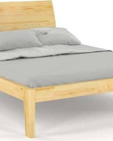 Dvoulůžková postel z masivního borovicového dřeva SKANDICA Agava, 180 x 200 cm
