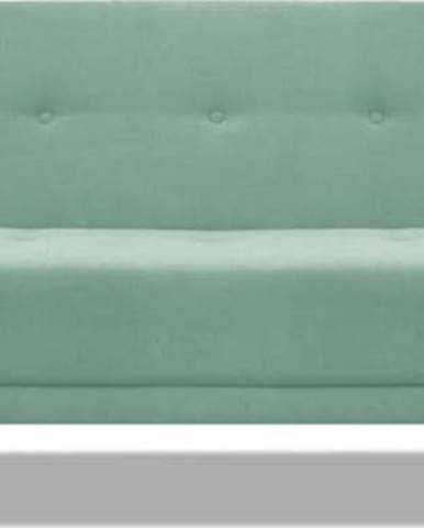 Mátově zelená rozkládací pohovka Cosmopolitan Design Stuttgart, 212 cm
