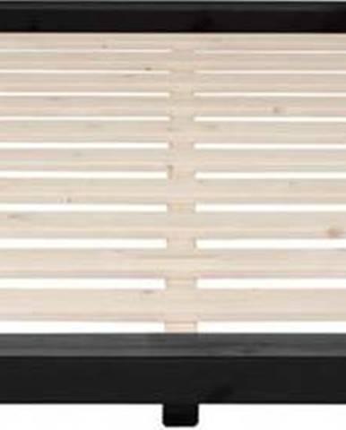 Postel z borovicového dřeva Karup Design Dock, 180 x 200 cm