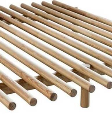 Rám postele z borovicového dřeva Karup Design Pace Natural,180 x 200 cm