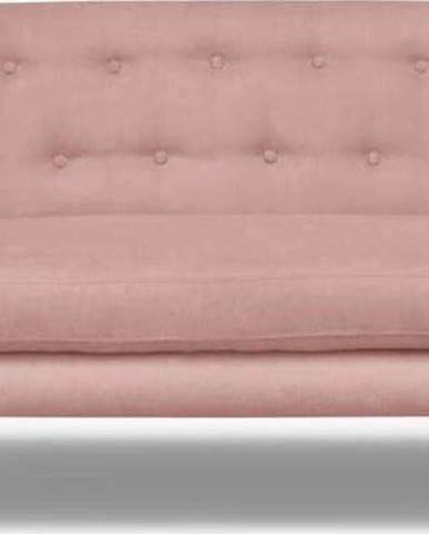 Světle růžová pohovka Cosmopolitan design London, 162 cm